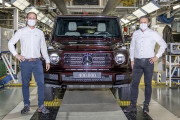 Mercedes-Benz G-klasse bereikt productiemijlpaal