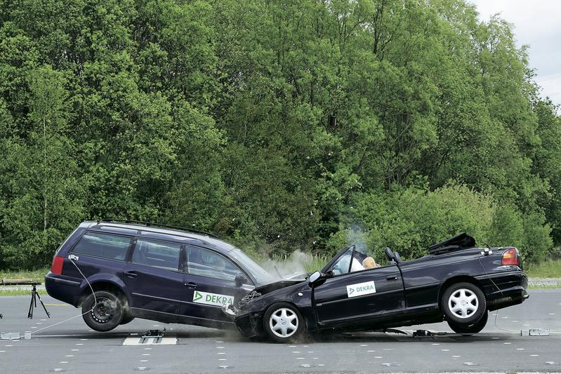 Hoe veilig is een oude auto?