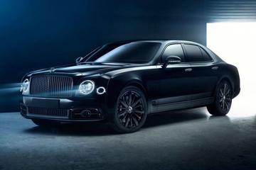 One-off Bentley Mulsanne is heel duister