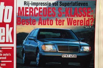 Mercedes-Benz S-klasse (W140) rijtest - Uit de Oude Doos