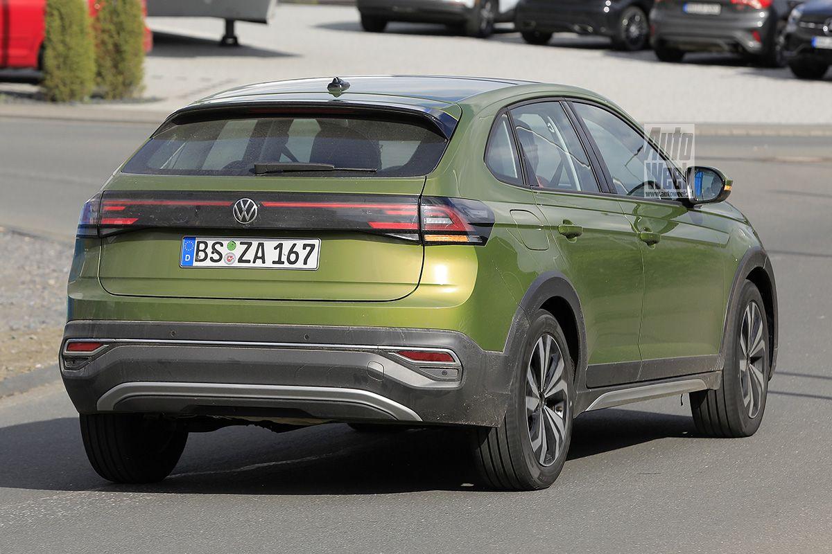 Volkswagen Taigo spyshots