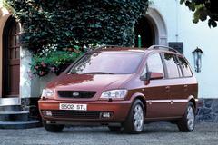 De Tweeling: Opel Zafira - Subaru Traviq