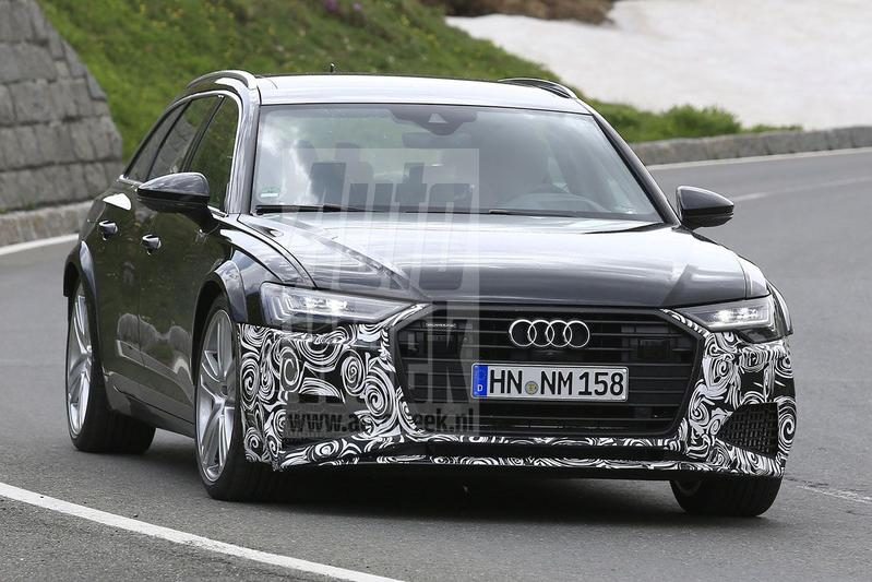 Audi S6, RS6 én A6 Allroad in beeld