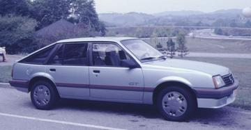 Opel Ascona 1.8i GT (1985)