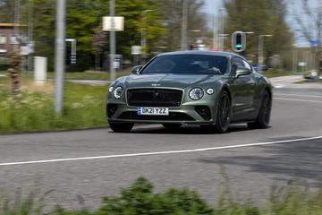 Bentley Contintental GT - Achteruitkijkspiegel