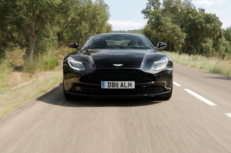 Aston Martin DB11 V8 - Rij-impressie