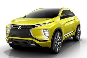 Mitsubishi neemt eX Concept mee naar Tokyo