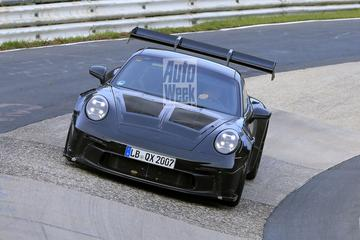 Porsche 911 GT3 RS de Nürburgring op