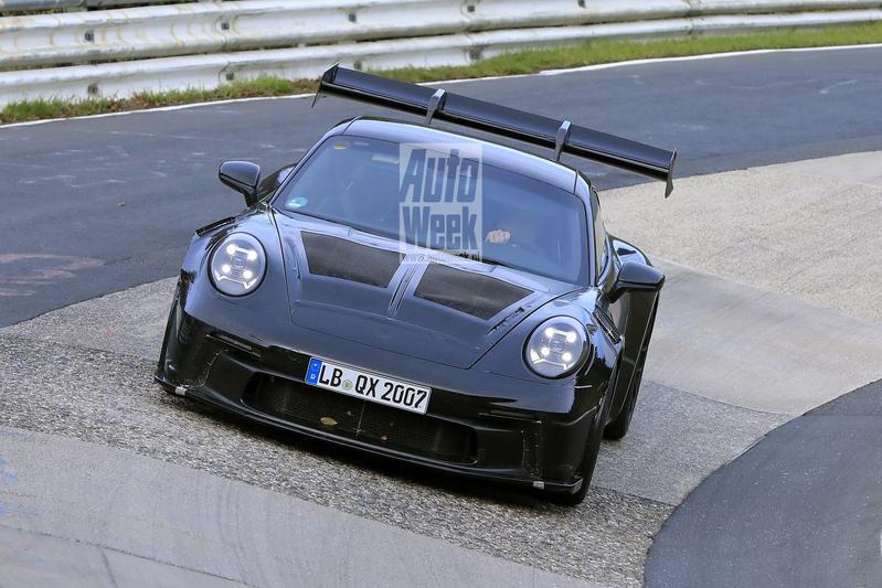 Porsche 911 GT3 RS Spionage
