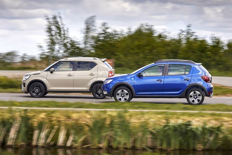 Dacia Sandero Stepway – Suzuki Ignis - Dubbeltest