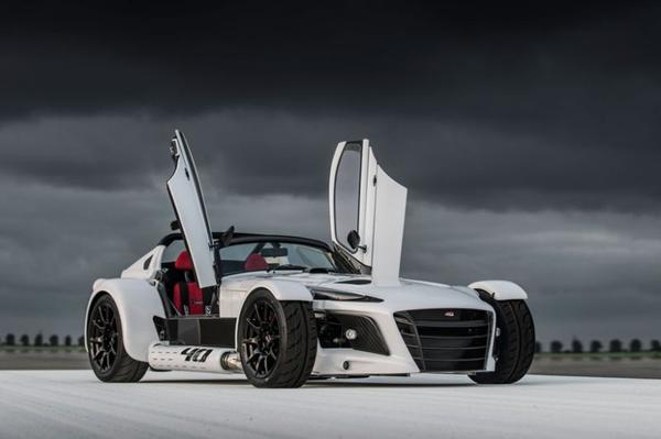 Donkervoort D8 GTO-40 is los