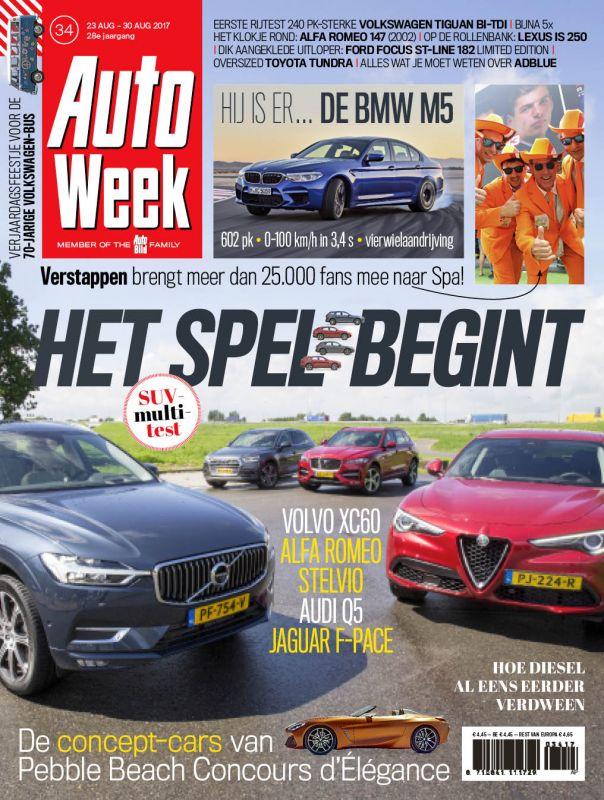 AutoWeek 34 2017