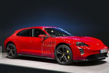 Blik to the Future: Porsche Taycan Sport Turismo