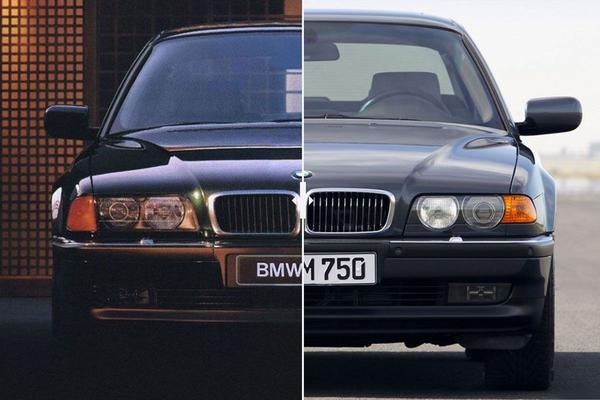 Facelift Friday: BMW 7-serie (E38)
