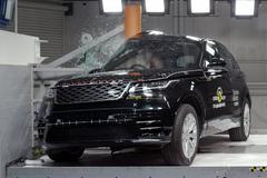 Range Rover Velar sleept 5 NCAP-sterren binnen