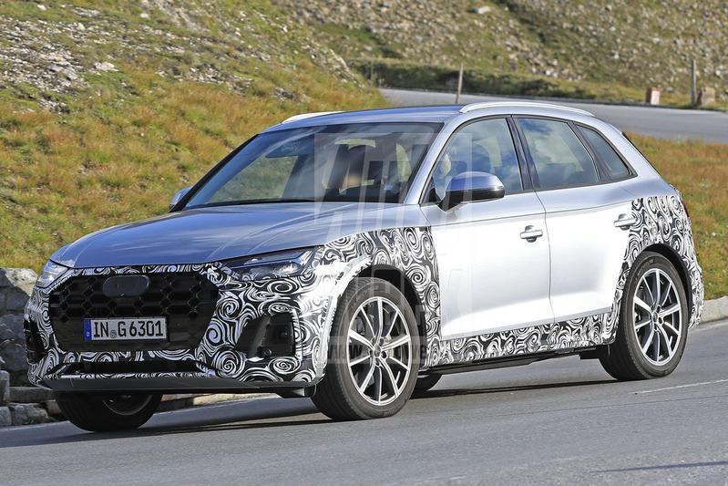 Spyshots Audi Q5 facelift