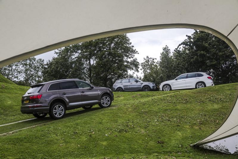 BMW X5 - Audi Q7 - Range Rover Sport
