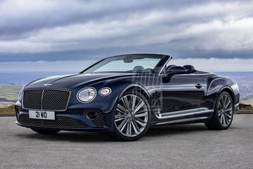 Bentley Continental GT Speed Convertible is los