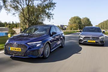 Audi A3 Limousine vs. Mercedes-Benz A-klasse Limousine - Dubbeltest