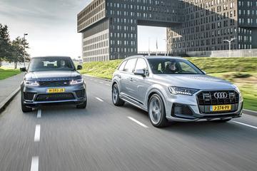 Audi Q7 vs. Range Rover Sport - Dubbeltest