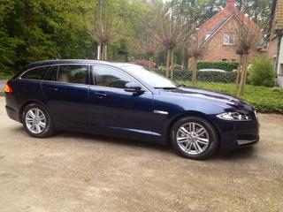 Jaguar XF Sportbrake 2.2D Business Edition (2013)