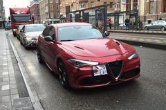 *UPDATE* Alfa Romeo Giulia gespot in Amsterdam
