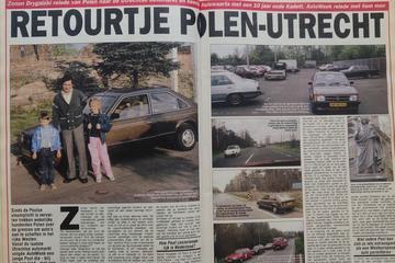 Polen komen gebruikte auto's halen - Uit de Oude Doos