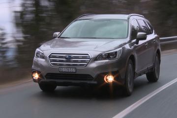 Rij-impressie - Subaru Outback