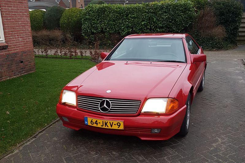 Mercedes-Benz SL Bas van Putten