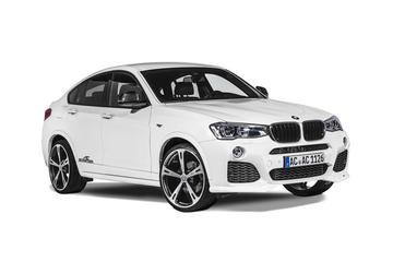 AC Schnitzer pompt de BMW X4 op