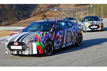 Hyundai laat Veloster alvast zien