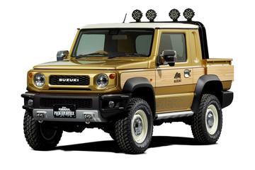 Suzuki presenteert Jimny als pick-up