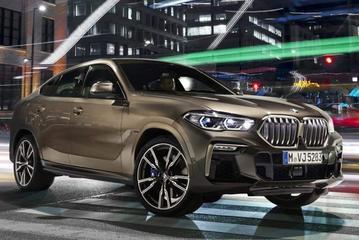 Nieuwe BMW X6 gelekt