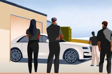 Nieuwe Rolls-Royce Ghost laat zich al deels zien