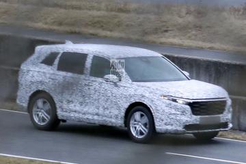 Nieuwe Honda CR-V betrapt