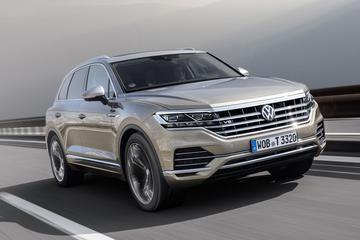 Volkswagen kondigt Touareg V8 TDI aan