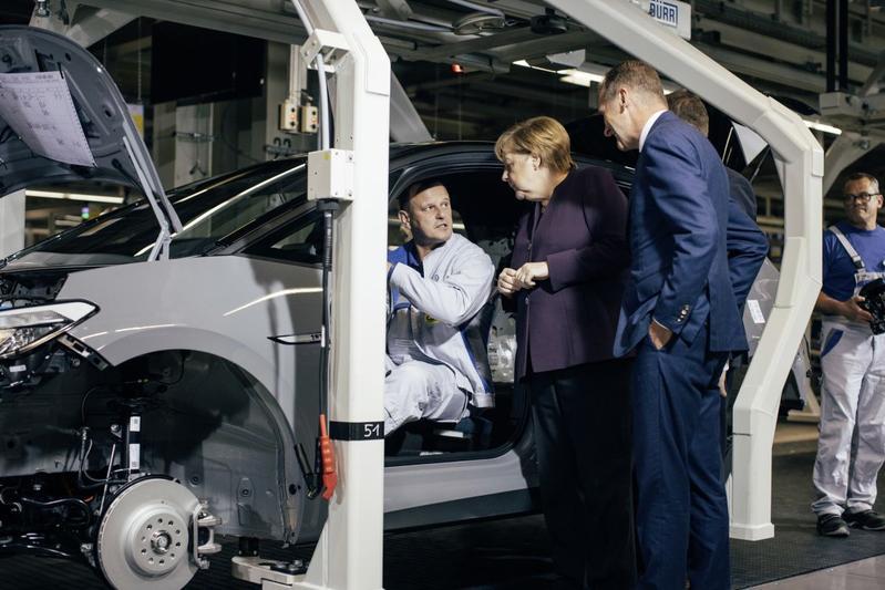Volkswagen ID.3 productie Angela Merkel