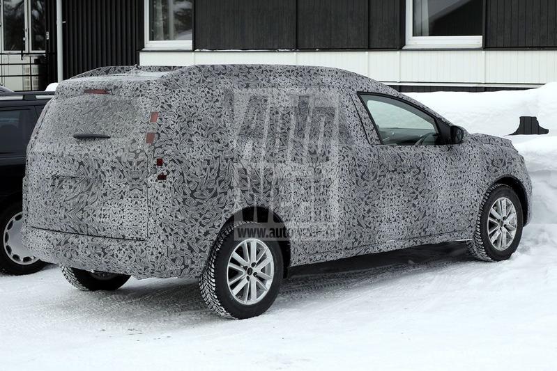 Spyshots Dacia Logan MCV