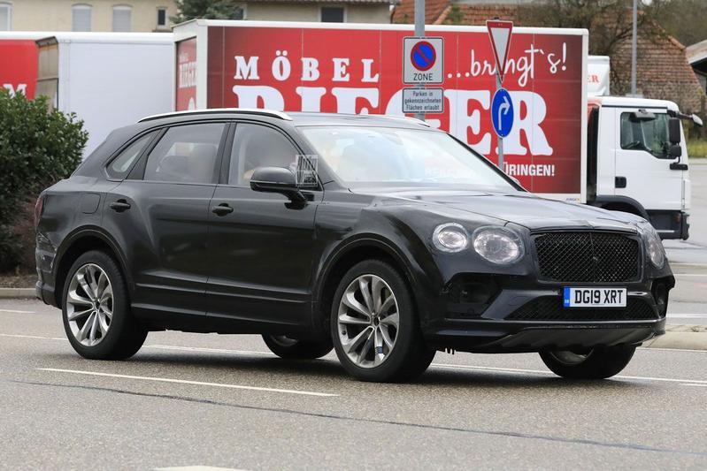 Spyshots Bentley Bentayga