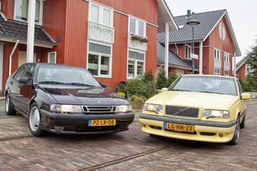 Classics Dubbeltest Volvo T-5R vs. Saab 9000 Aero