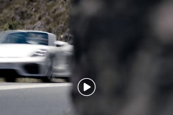 Porsche warmt op voor komst 718 Spyder