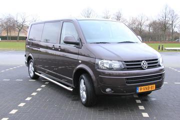 Volkswagen Transporter L2H1 Dubbele Cabin 4-deurs bestelwagen (2011)