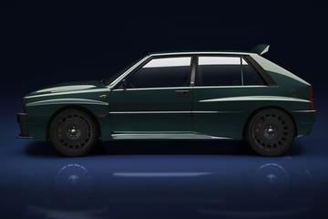 'Restomod' Lancia Delta Integrale op komst