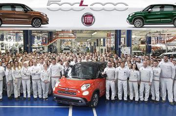 Mijlpaal Fiat 500L