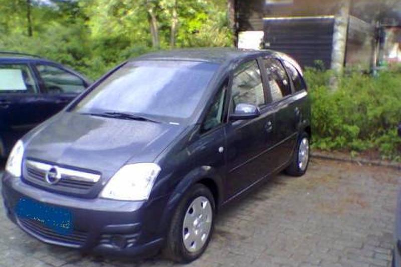 Opel Meriva 1.7 CDTi Cosmo (2006)