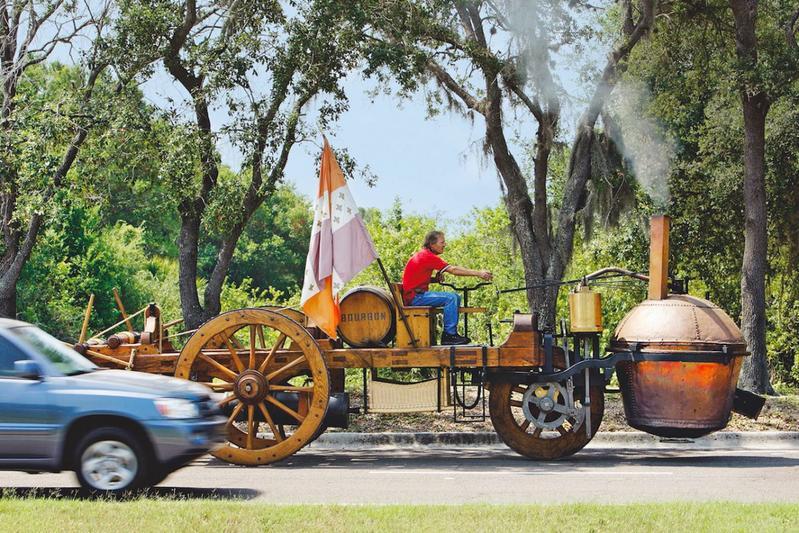 Auto oud stoomwagen 1769