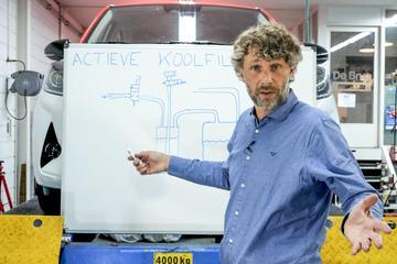 Actieve koolfilter – Cornelis schetst
