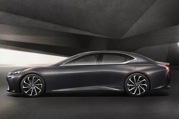 Lexus LF-FC blikt vooruit naar nieuwe LS