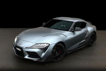 Toyota Supra TRD Performance Line Concept ontketend