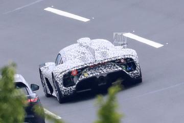 Testwerk Mercedes-AMG One in volle gang